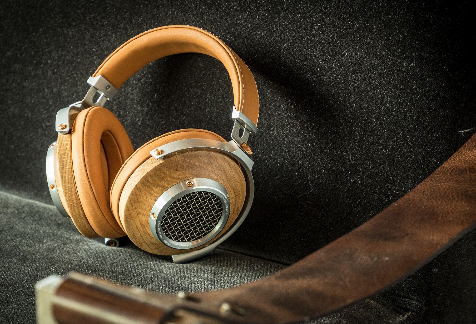 Klipsch Heritage HP-3 Audiophile Headphones Oak