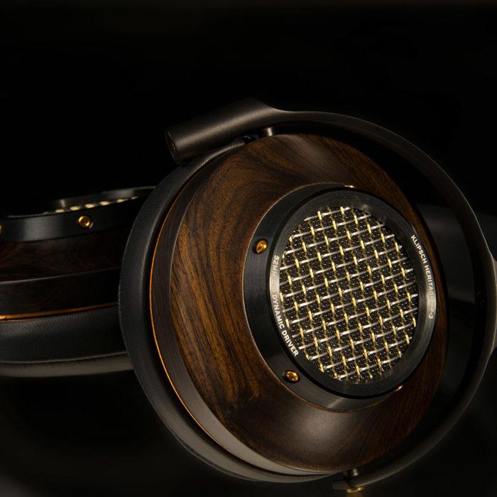 Klipsch Heritage HP-3 Audiophile Headphones Walnut