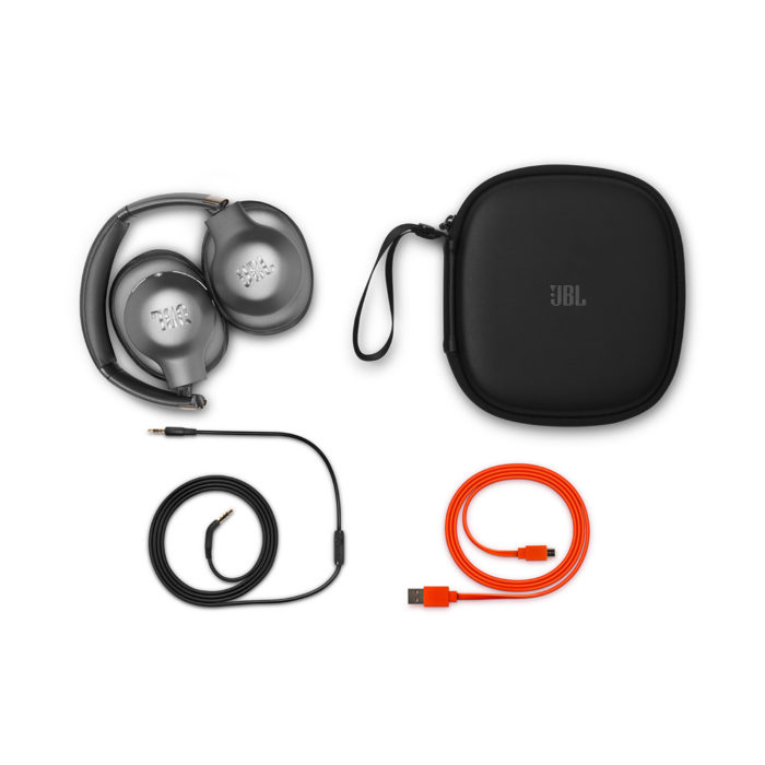 JBL Everest Elite 750NC Bluetooth Headphones with Active Noise Cancelling (Gun Metal)