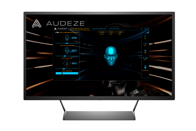 Audeze Mobius Gaming Headphones control Software
