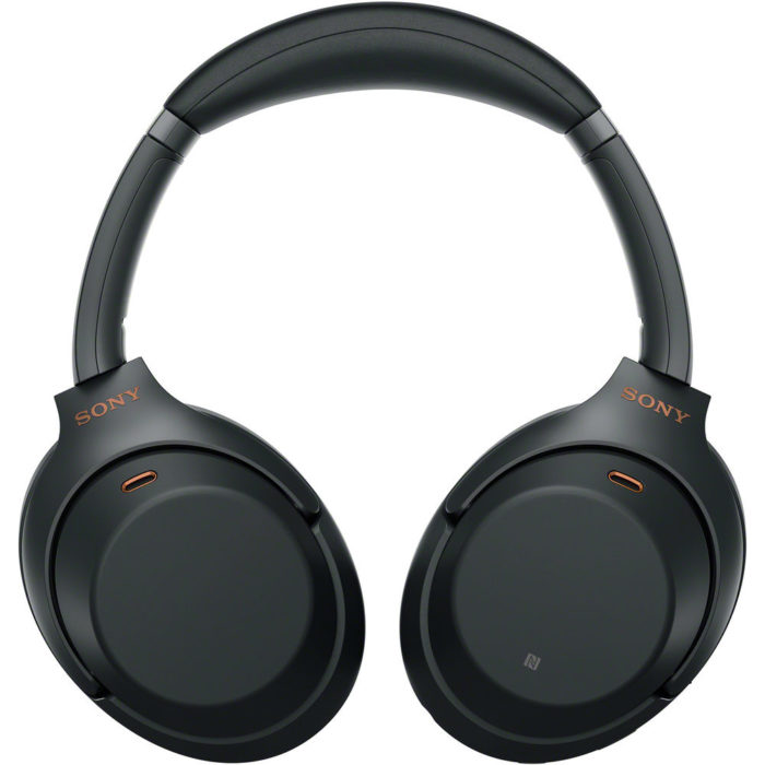 Sony WH-1000X M3 Bluetooth Headphones with Noise Cancelling (Black)
