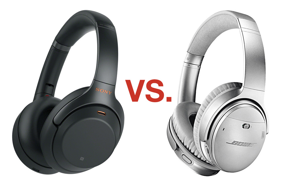 Sony WH-1000XM3 vs Bose QC35II