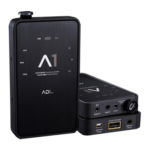 ADL A1 DAC and Headphone Amp